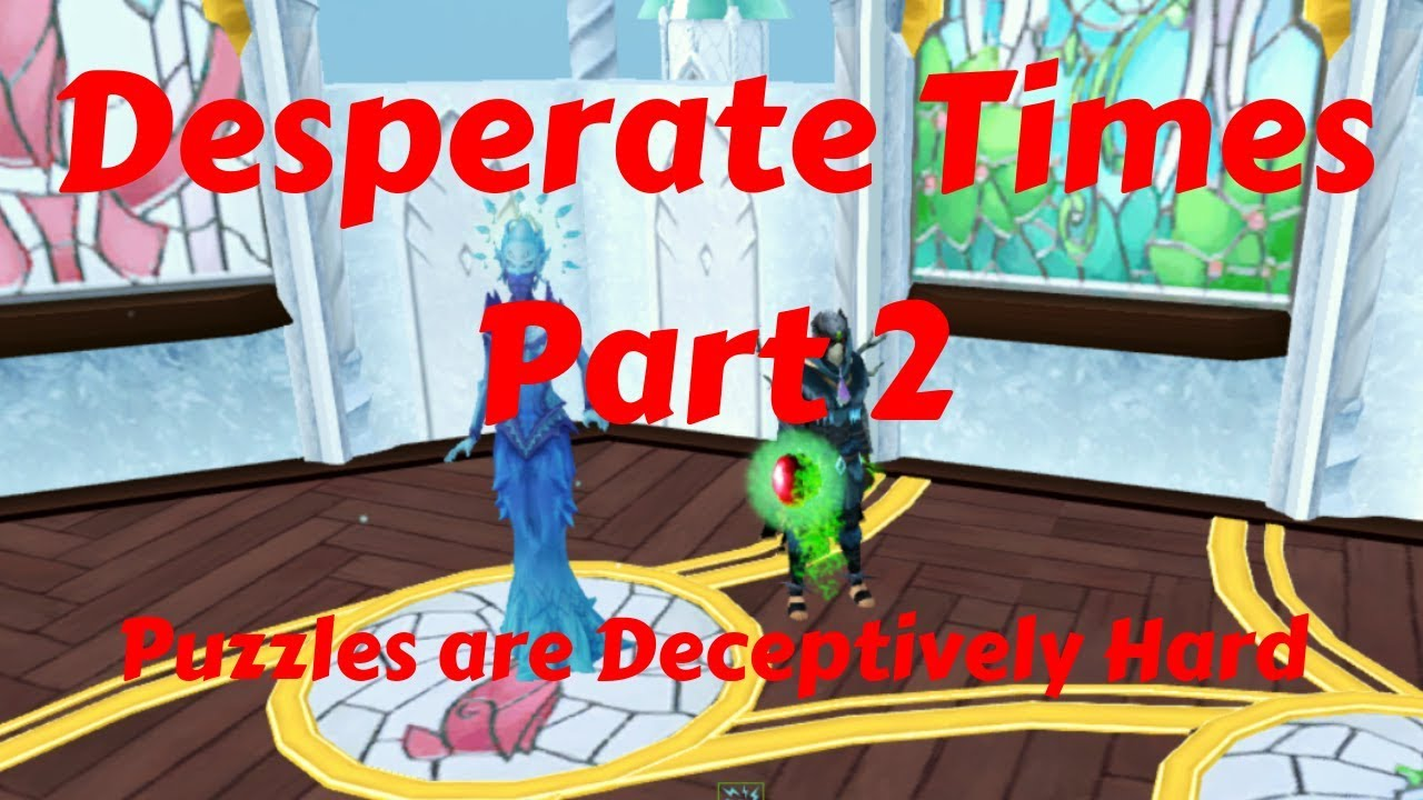 Desperate Times Part 2 - Puzzles are Deceptively Hard - Runescape Quest  Playthrough