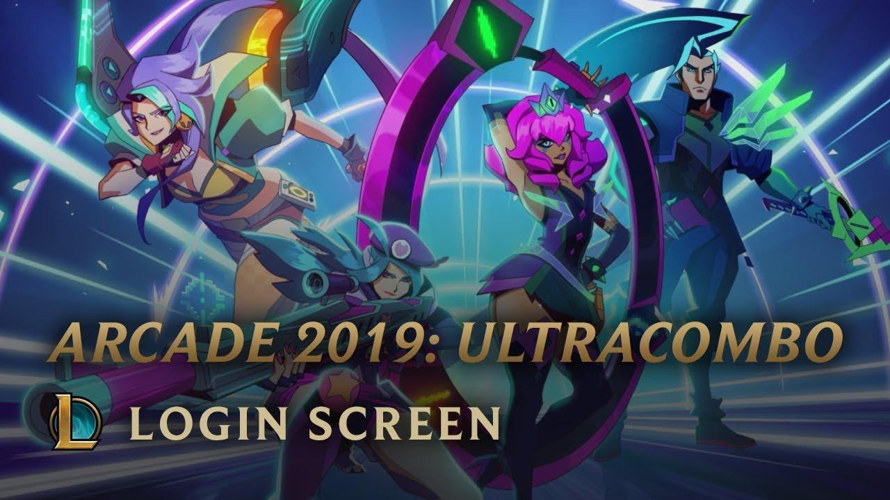 ARCADE 2019: ULTRACOMBO | Login Screen - League of Legends