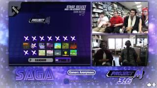 SAGA - Dot&Feather(Charizard,Falcon) vs. Space Jam(Peach,ROB) - Grand Finals - Project M