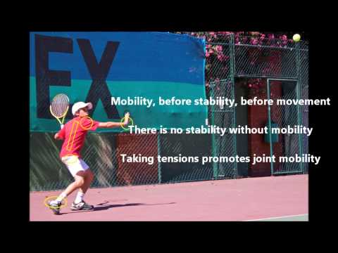 Tennis with quality and fluidity