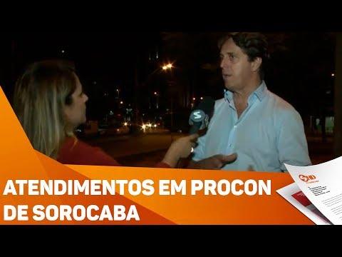 Atendimentos Em PROCON De Sorocaba - TV SOROCABA/SBT