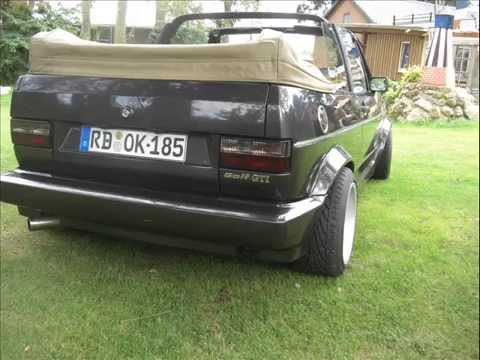 golf 1 cabrio gti youtube. Black Bedroom Furniture Sets. Home Design Ideas