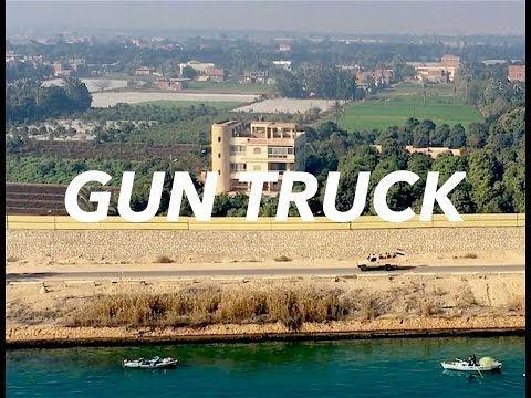 Chased by UNKNOWN Gun Truck during Suez Canal Transit.
