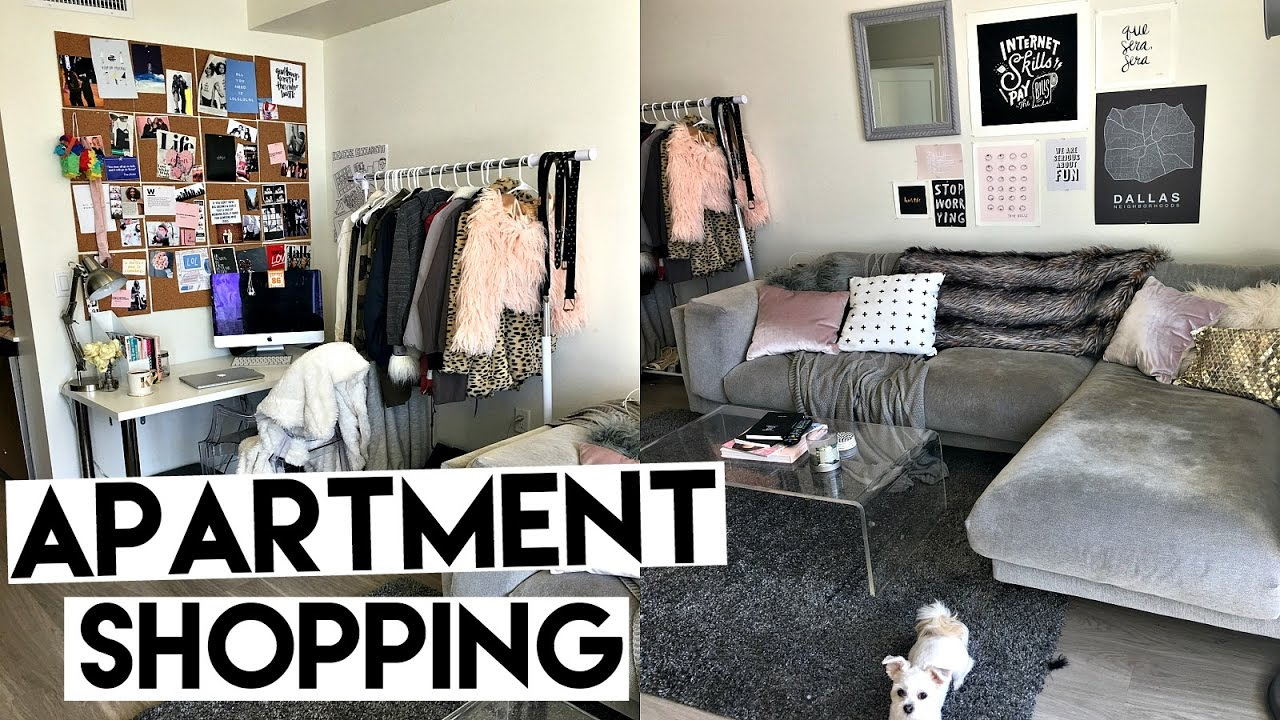 After signing the lease, getting the keys, and scheduling your cable installation, everything else about renting seems easy. But wait — you need things to put in your apartment, don't you?