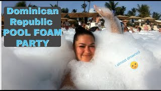 POOL FOAM PARTY x Bahia Principe Ambar x pure happiness