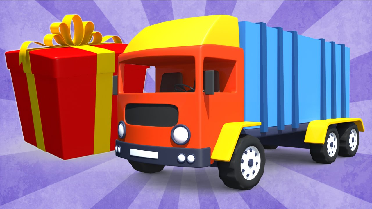 lorry truck trucks for children s unboxing toys big truck