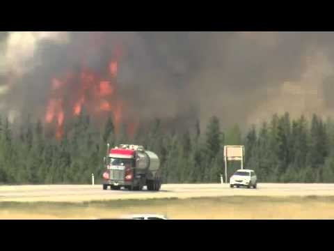 Officials Say Alberta Fire Continues To Grow