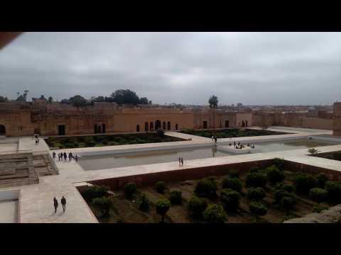 El Badi Palace, Marrakech: 26/2/17