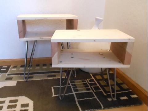 DIY Welding Metal Hairpin Table Legs YouTube - How to make metal table legs
