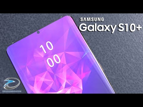 Samsung Galaxy S10 Plus Realistic Concept With In Display Camera & Rear Quad Camera
