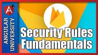 💥 Firestore Security Rules Fundamentals