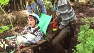 видео Проходит туристский слет учащихся Союзного государства