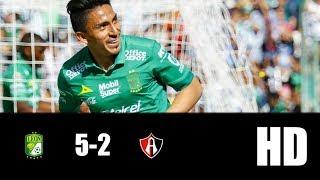 León vs Atlas 5-2   RESUMEN GOLES   LIGA MX   2019