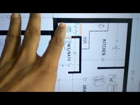 500 Sq.ft best House plan
