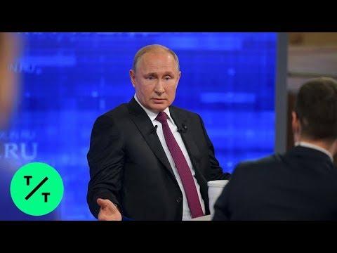 Putin Warns U.S. Against Using Force on Iran During Marathon Call-In Show