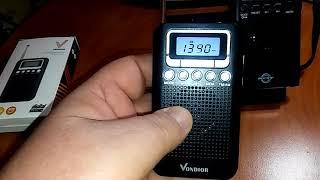 Vondior Vs Boctop Am Fm Pocket Radio Youtube