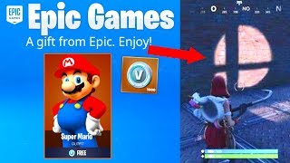 Fortnite FREE Super Smash Bros Ultimate EVENT...