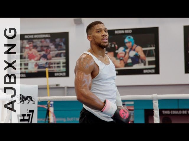 Training Camp Vlog - 7 Weeks Out! ~ Anthony Joshua