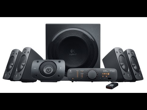 Logitech  5 1 Surround Sound Speaker System   THX, Dol Digital and DTS Digital Certified