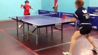 Team USA Real Training Drills in Las Vegas Table Tennis Club