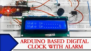 An Arduino LCD clock using the ChronoDot RTC