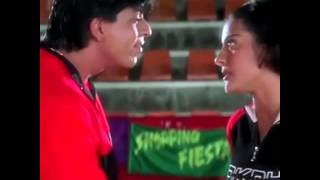 Каджол и  Шах рук кхан, Srk, kadjol, всё в жизни бывает,  и в печали и в радости , отрывки из фильма