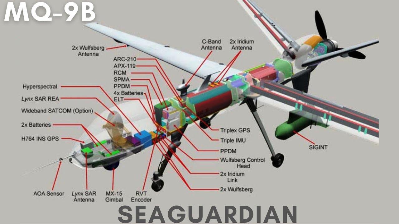 Download MQ-9B SEA-GUARDIAN   Multi Mission RPA