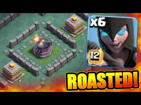 Thumbnail: MAX LEVEL ROASTER MAZE BASE!! - Clash Of Clans - NEW STRONGEST DEFENSE TROLL!