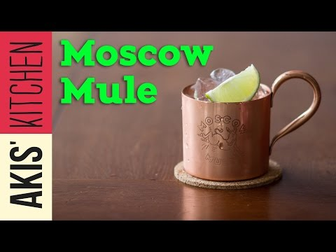 Moscow Mule - Drinks Lab | Akis Kitchen