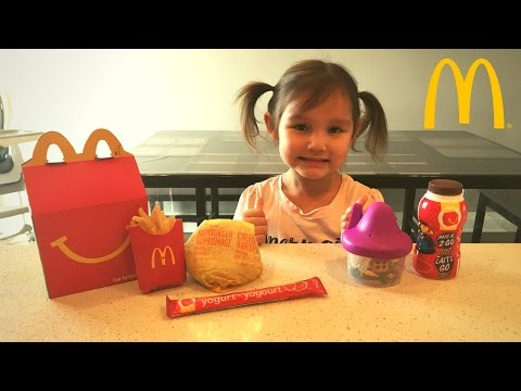 Thumbnail: How to Make MCDONALDS Happy Meal Kid vs Food Skit Pretend Playtime for Kids