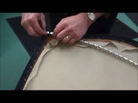Upholstery Basics Upholstering An Outside Back Using Pli Grip