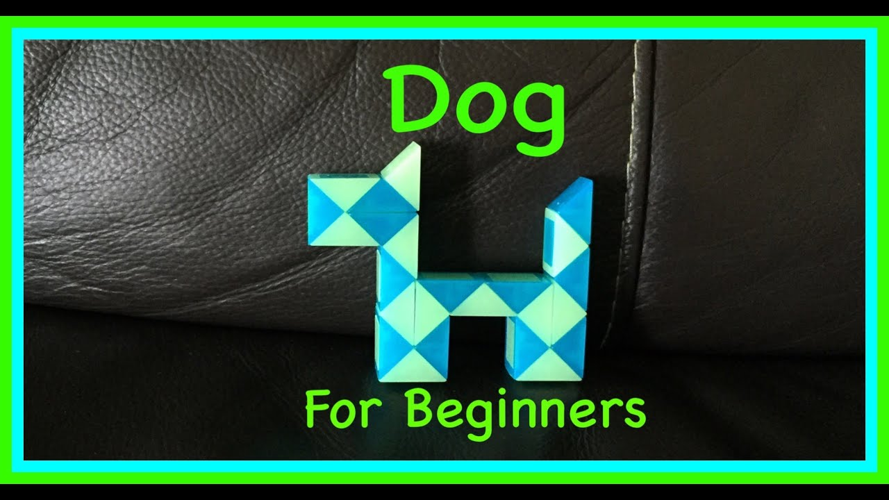 Smiggle Snake Puzzle or Rubik\'s Twist Tutorial: How to Make a Dog ...