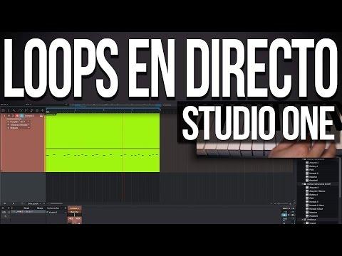 Loops en directo | Presonus Studio One