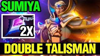 Double Talisman Build Unkillable - Sumiya Invoker 7.14 - Dota 2