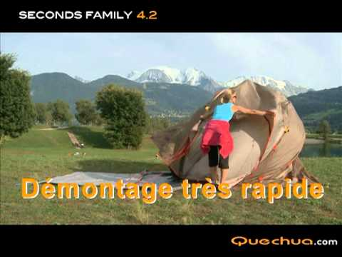 Fr quechua tente seconds family 4 1 funnycat tv - Tente 4 places 2 chambres seconds family 4 2 xl ...
