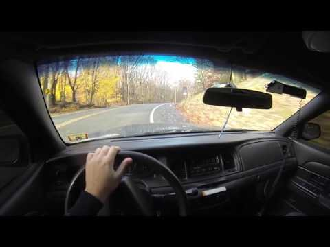 Crown Victoria Police Interceptor POV Accelerations and Drifts