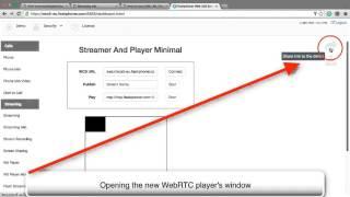 HTML5 RTSP WebRTC Player by Flashphoner