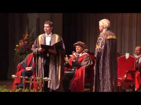 Inauguration of Professor Sir Malcolm Grant as Chancellor