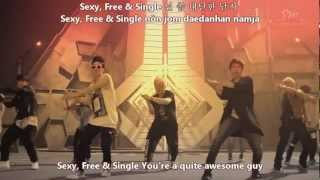 Repeat youtube video [MV] Super Junior - Sexy, Free & Single [English subs+Romanisation+Hangul]