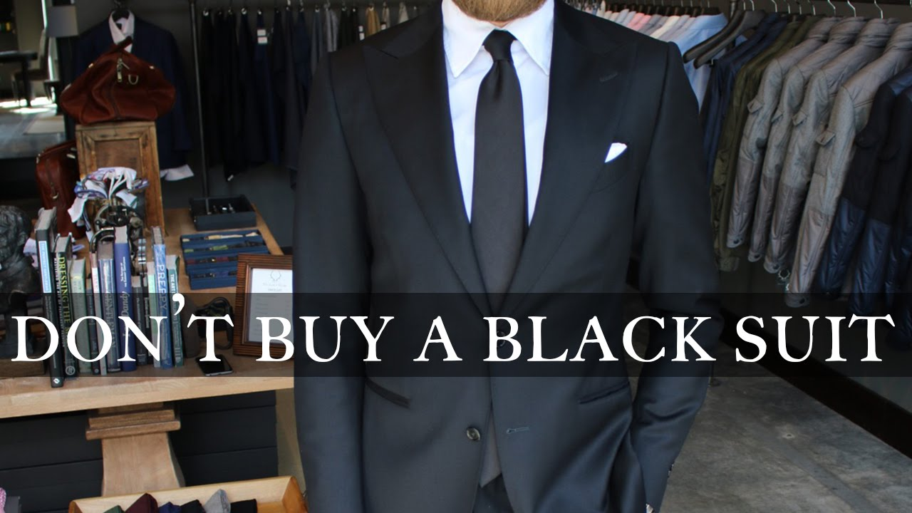 Don't Buy a Black Suit - YouTube