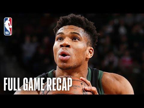 HEAT vs BUCKS | Giannis Antetokounmpo & Khris Middleton Lead Milwaukee | March 22, 2019