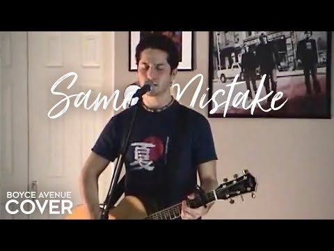 Music video Boyce Avenue - Same Mistake