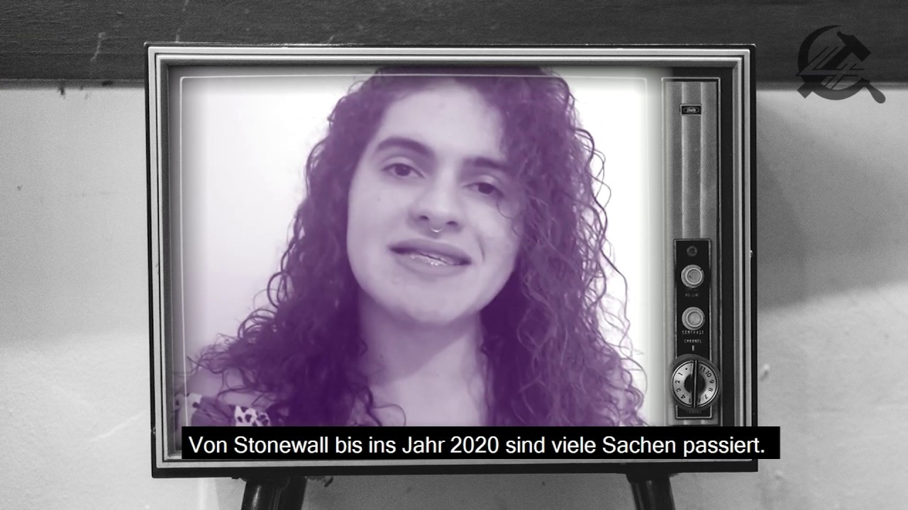 #Pride 2020 Auf der ganzen Welt sagen wir: Stonewall war ein Aufstand!
