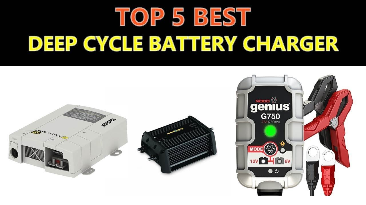 Best Deep Cycle Battery Charger 2019 Youtube