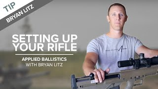 Setting Up Your Rifle for Long-range Shooting | Applied Ballistics
