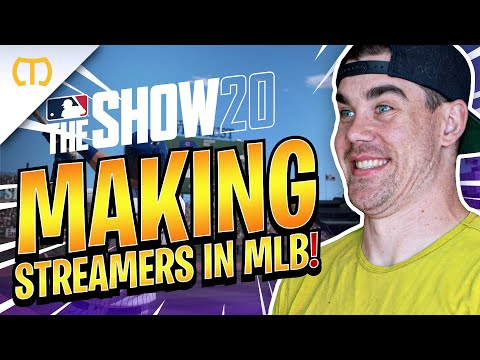 Making Streamers In Road To The Show   MLB The Show 20