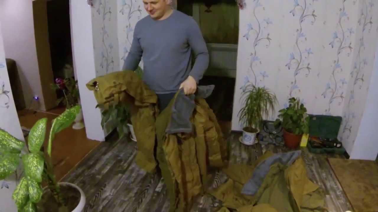 Тактическая куртка Splav «Горная 3» брезент Tibet - YouTube