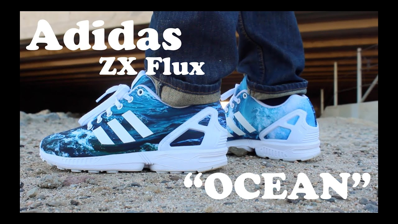 adidas zx flux ocean waves shop
