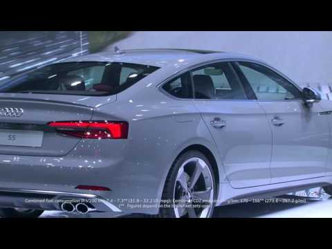 World Premiere Audi S5 Sportback at Paris Motor Show 2016 | AutoMotoTV