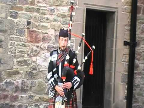 Awesome Bagpipe Player